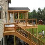 8 Deck work (Deck & railings)