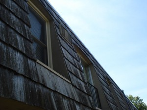 BEI Siding Before, commercial siding, siding for town houses, condo contractors