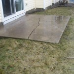 Concrete Work- Before