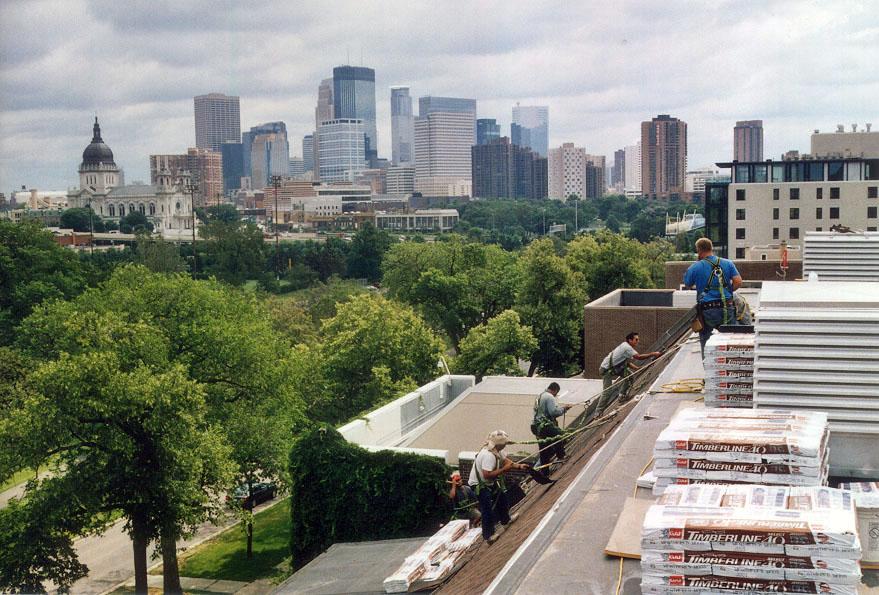 Minneapolis St. Paul Roof Maintenance, Exterior Building Maintenance, Minneapolis Commercial Roofing